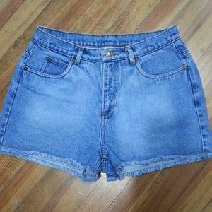 Mom style Jean shorts